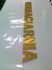 Napis Herbaciarnia